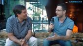 David Braben - Entrevista al Premio Leyenda de Gamelab 2016