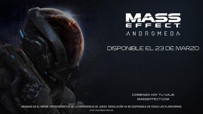 Mass Effect: Andromeda - Tráiler de lanzamiento en español