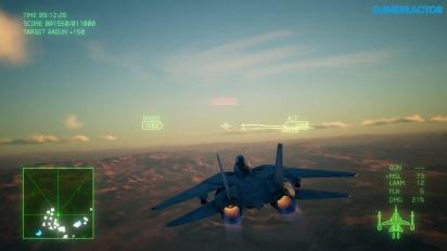 Ace Combat 7: Skies Unknown - Gameplay de Gamescom 2018
