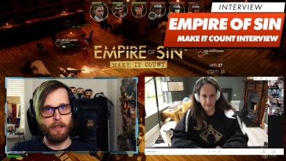 Empire of Sin: Make It Count - Entrevista con Romero Games