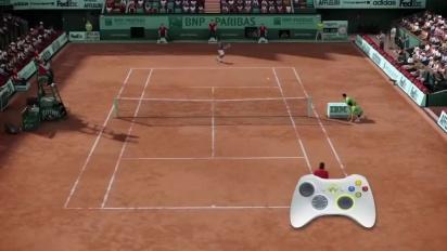 Grand Slam Tennis 2 - Total Racket Control Trailer