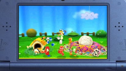 Poochy & Yoshi's Woolly World - New Features Trailer