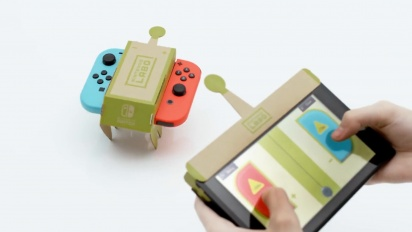 Nintendo Labo - Tráiler español de primeras imágenes