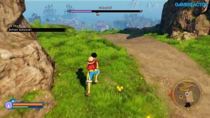 One Piece World Seeker - Gameplay de Gamescom