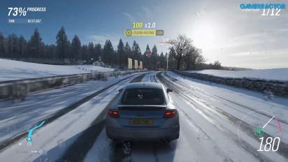 Forza Horizon 4 - Gameplay 4K 60 fps: Esprint junto al lago Derwent