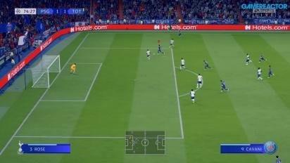 FIFA 20 - Gameplay Demo PSG vs. Tottenham