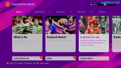 eFootball PES 2020 - Gameplay MyClub