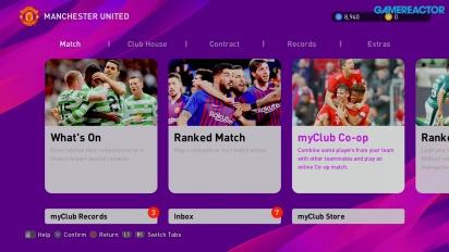 eFootball PES 2020 - Gameplay MyClub