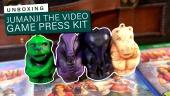Jumanji: El Videojuego - Unboxing del kit de prensa