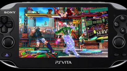 Street Fighter X Tekken - PS Vita Tekken Characters Gameplay