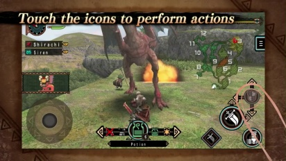 Monster Hunter Freedom Unite for iOS E3 Trailer