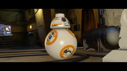 Lego Star Wars: El Despertar de la Fuerza - Tráiler español de BB-8