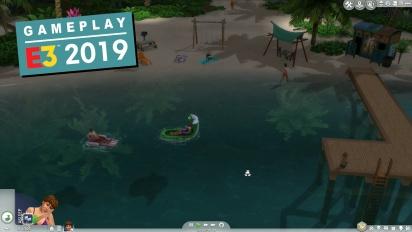 Los Sims 4 - Gameplay de Vida Isleña