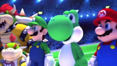 Mario & Sonic at the Olympic Winter Games - Opening Ceremony Trailer