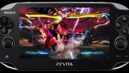 Street Fighter X Tekken - PS Vita Battle Highlights Trailer