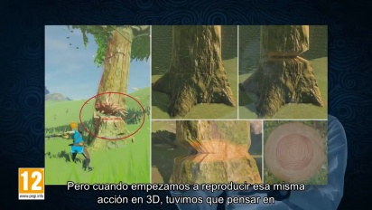 The Legend of Zelda: Breath of the Wild - Making-off en español parte 1