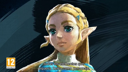 The Legend of Zelda: Breath of the Wild - Making-off en español parte 3