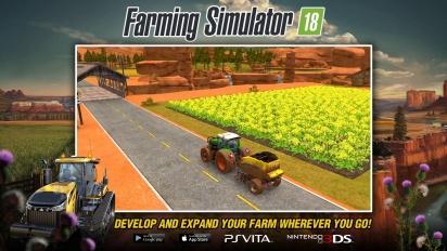 Farming Simulator 18 - Gameplay en PS Vita y Nintendo 3DS