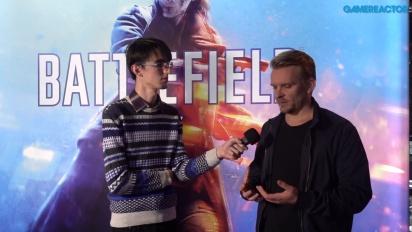 Battlefield V - Entrevista a Daniel Berlin