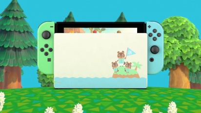 Nintendo Switch Edición Animal Crossing: New Horizons - Tráiler español