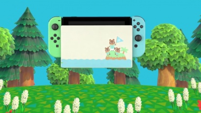 Nintendo Switch Animal Crossing: New Horizons Edition Trailer