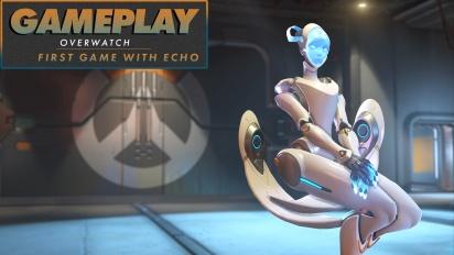 Overwatch - Primera partida con Echo