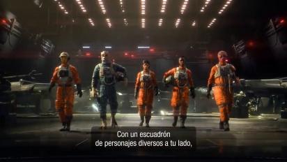 Star Wars: Squadrons - Tráiler general español
