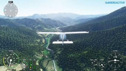 Microsoft Flight Simulator - Vuelo relajante sobre los Picos de Europa