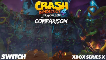 Crash Bandicoot 4 - Comparación Nintendo Switch vs Xbox Series vs Xbox One