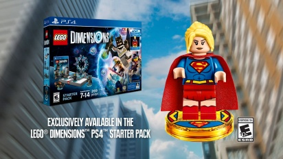 LEGO Dimensions - Supergirl Debut Trailer