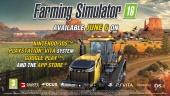 Farming Simulator 18 - Tráiler de Gameplay