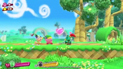 Kirby Star Allies - Nintendo Direct Trailer