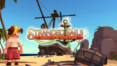 Stranded Sails: Explorers of the Cursed Islands - TGS 2019 Gameplay Trailer   PS4