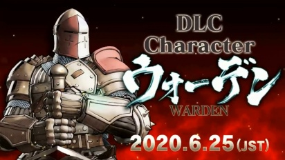 Samurai Shodown - Warden DLC Character