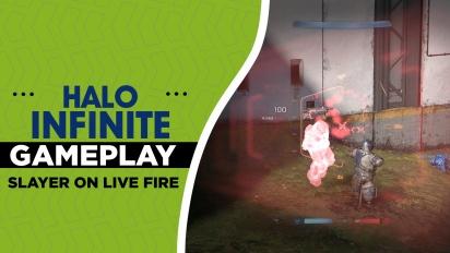 Halo Infinite -  Gameplay Slayer en Live Fire