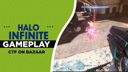 Halo Infinite - Gameplay Capturar la Bandera en Bazaar