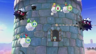 Mario Party 10 - Minijuego Ascenso Nebuloso