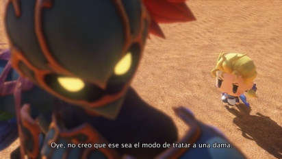World of Final Fantasy - Tráiler español E3 2016