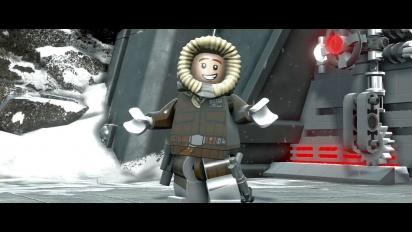 Lego Star Wars: The Force Awakens – The Empire Strikes Back Character Pack Vignette