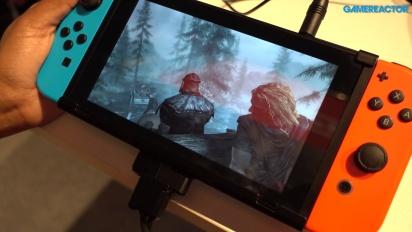The Elder Scrolls V: Skyrim para Switch - Primer gameplay