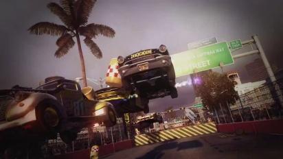 Dirt Showdown - Race Hard Party Hard Gameplay Trailer