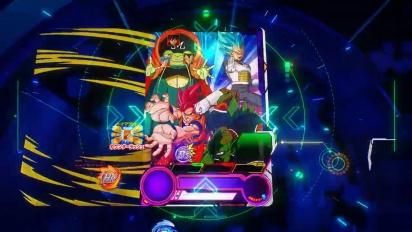 Super Dragon Ball Heroes: World Mission - Tráiler Creación de cartas en español