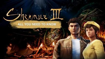 Shenmue III - Todo lo que debes saber (Patrocinado)