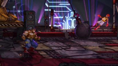 Streets of Rage 4 - Tráiler de fecha final y Modo Batalla