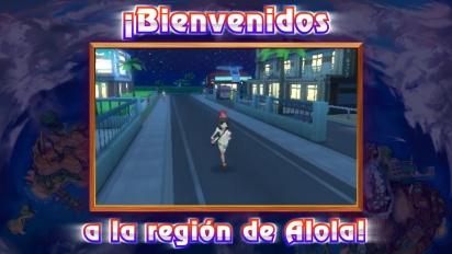 Pokémon Sol/Luna - Tráiler español de la Región de Alola