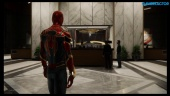 Spider-Man - Gameplay del extraño glitch que transforma a Mary Jane en Spidey