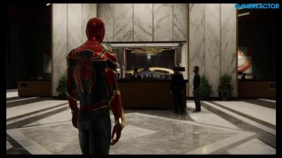 Spider-Man - Gameplay del extraño glitch que transforma a Mary Jane en Spidey
