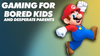 Juegos para Niños Aburridos y Padres Desesperados