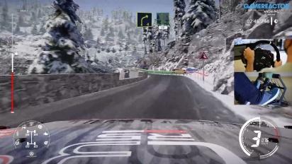 WRC 9 - Gameplay del Rallye Monte-Carlo versión review