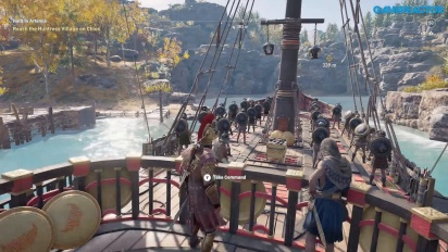 Assassin's Creed Odyssey - Gameplay en Lesbos Parte 2